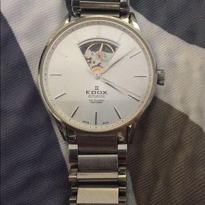 Edox Les Vauberts Automatic Watch 85011-3B-AIN